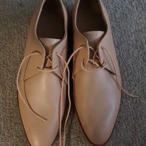 Everlane blush Oxford shoes - size 7.5